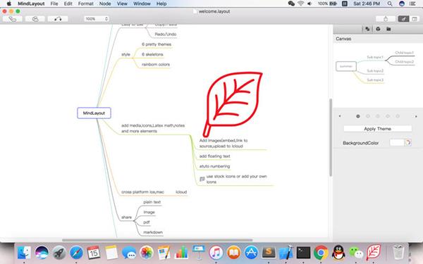 MindLayout Mac版V 2.0.2 官方版