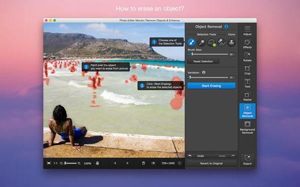 Photo Editor Movavi Mac版V3.0 官方版