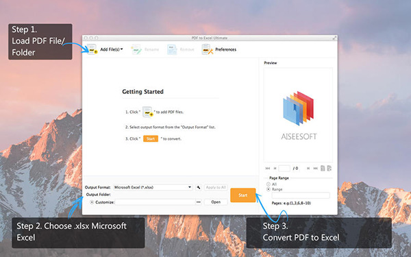 PDF to Excel Ultimate Mac版V1.0.25 官方版
