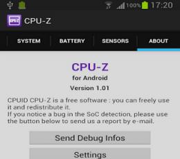 CPU-Z V1.23 安卓版