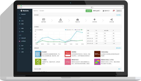 MetInfo企业建站系统V5.3.17 电脑版
