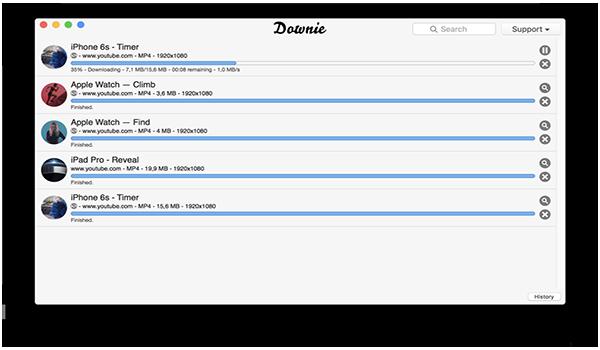 Downie for macV2.9.9 MAC版