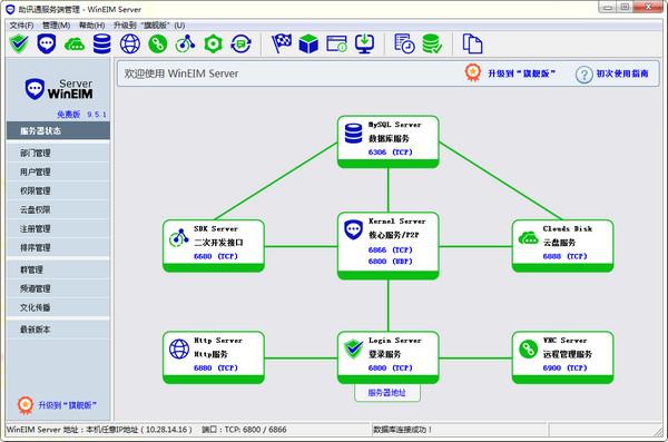 助讯通服务端V9.6.5官方版