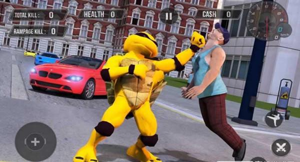 超级英雄飞行忍者神龟V1.2 安卓版
