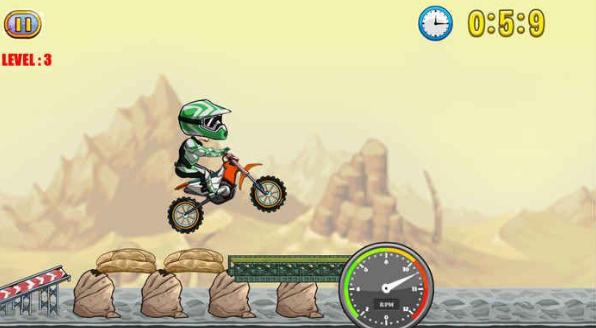 极限越野摩托车V1.0 电脑版截图1