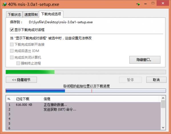 IDM下载工具V6.28.17 绿色汉化版
