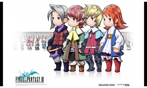 《最终幻想3》在最终幻想系列中拥有重要意义的一款作品,游戏首次引入了水晶职业系统,玩家收集水晶碎片来解锁更多的职业,而系列也首次出现了召唤兽等系统,最终幻想早期的水晶世界观也在这作基本成型。游戏中的职业非常的丰富,玩家可以对自己的队伍进行职业组合、搭配出最合理和有效的战斗效率。