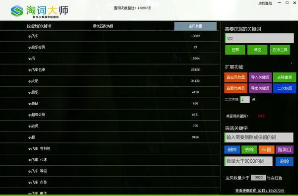 淘词大师V2.8 官方版