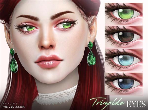 模拟人生4女性美瞳MOD游戏补丁