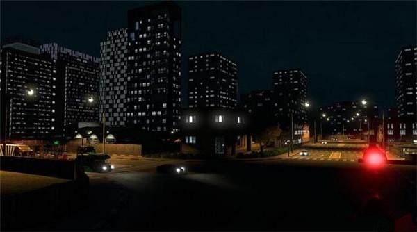 欧洲卡车模拟2建筑物各式灯光MOD游戏补丁
