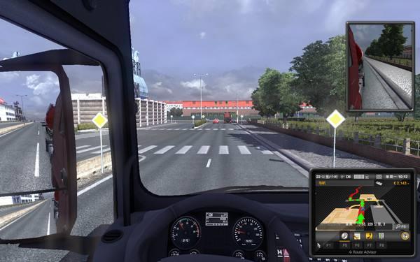 欧洲卡车模拟2CREATION的3种AI交通强度补丁游戏补丁