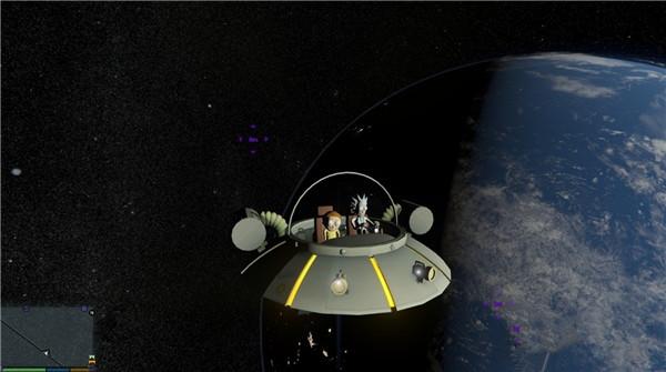 侠盗猎车瑞克与莫蒂太空巡洋舰MOD游戏补丁
