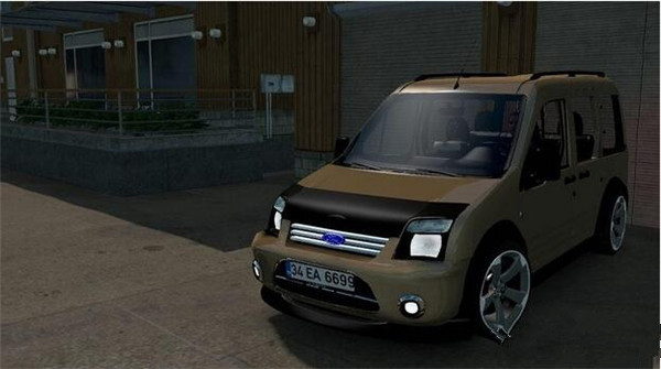 欧洲卡车模拟2福特全顺MOD游戏补丁