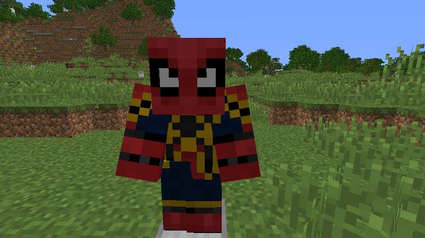 我的世界蜘蛛侠MOD游戏补丁