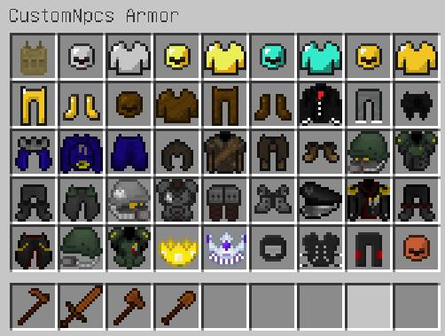 我的世界自定义NPC角色MOD游戏补丁