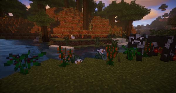 我的世界花草生态MOD游戏补丁