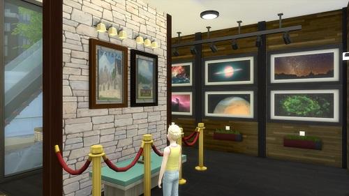 模拟人生4三米舒诺艺术展览馆MOD游戏补丁