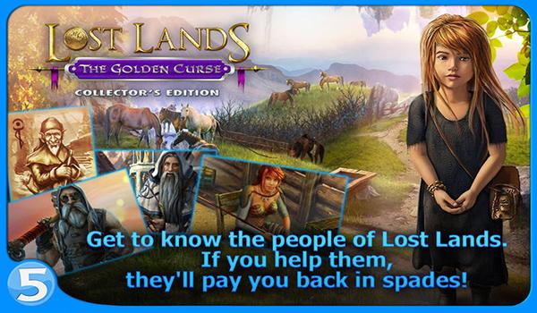 《失落领地:黑暗霸主(Lost Lands: Dark Overlord)》是一款冒险解谜游戏。游戏的画面设计的很精致漂亮,给人一种新颖的感觉。 游戏故事讲述是一个熊孩子很不幸被树精抓走了,作为母亲的你开始了寻找孩子冒险之旅。