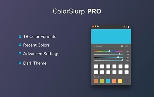 ColorSlurpV1.0.0 Mac版