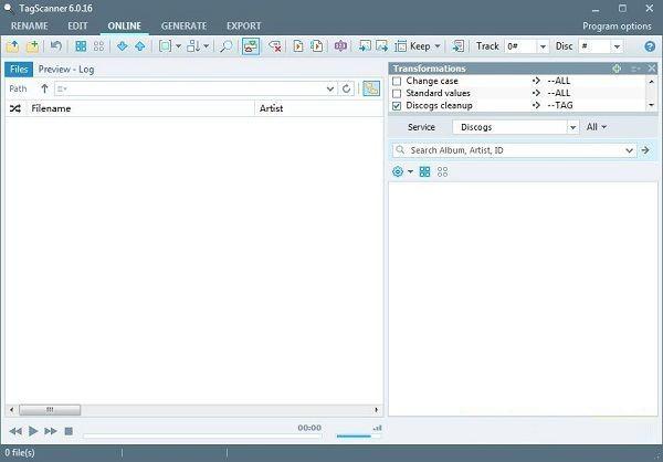 TagScanner(mp3文件更名)V6.0.25 中文绿色版