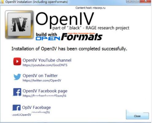 openiv mod安装工具V3.0 汉化版