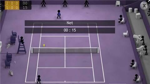 火柴人网球赛V1.9 IOS版