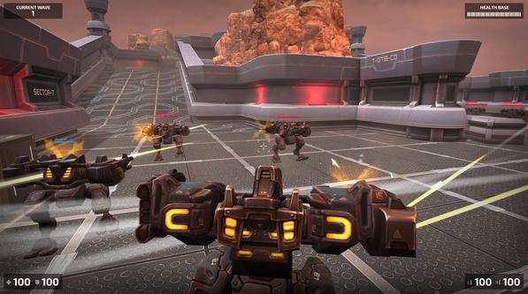 钢铁竞技场机器人大战V1.0 破解版