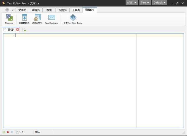 Text Editor Prov2018 中文版
