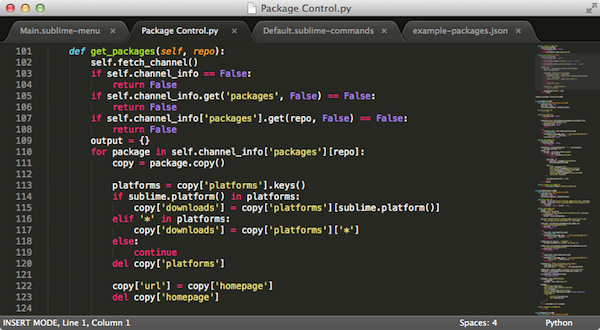 Sublime Text 3 BulidV3175 mac版