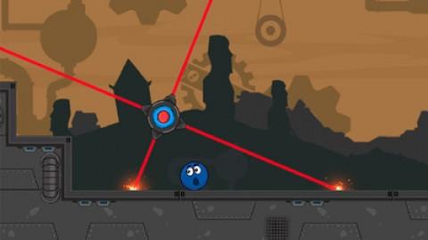 蓝色的球滚V1.0 破解版
