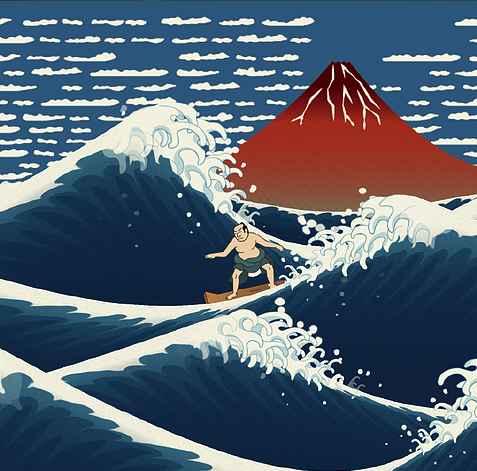 浮世冲浪V1.0 苹果版