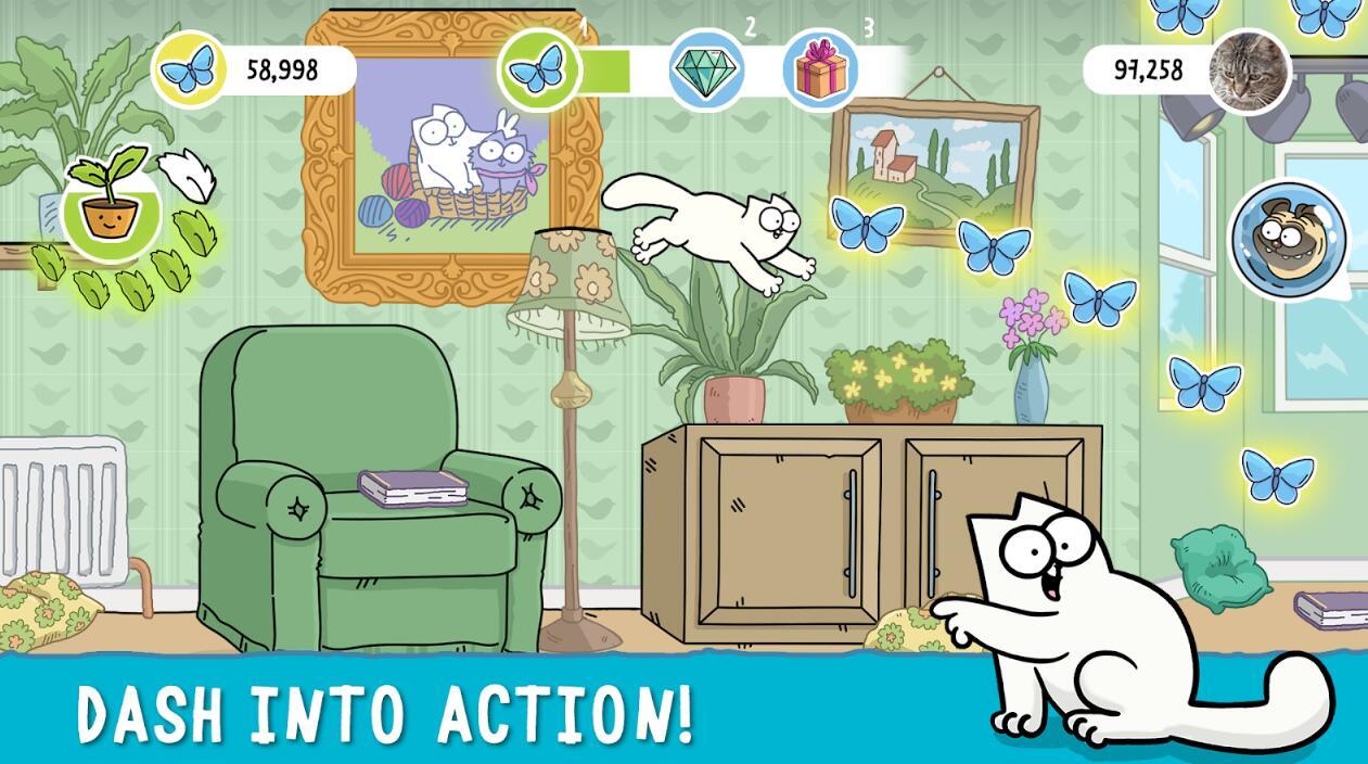 西蒙的猫冲浪V1.5.1 苹果版