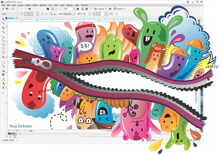 CorelDRAW Graphics Suite 2017官方免费版