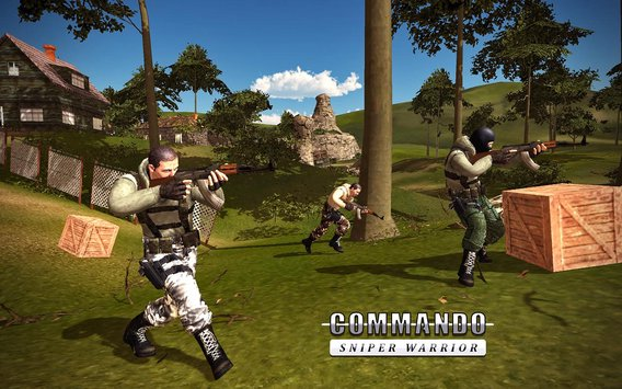 狙击手幽灵突击队战士V1.1.8 安卓版