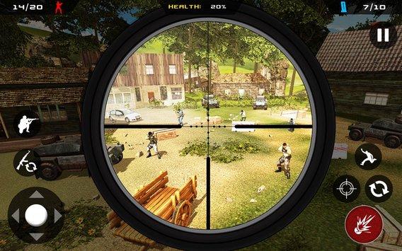 狙击手幽灵突击队战士V1.0 苹果版