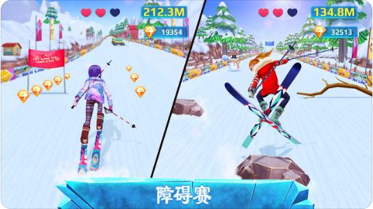 滑雪女孩超级明星v1.0.2 苹果版