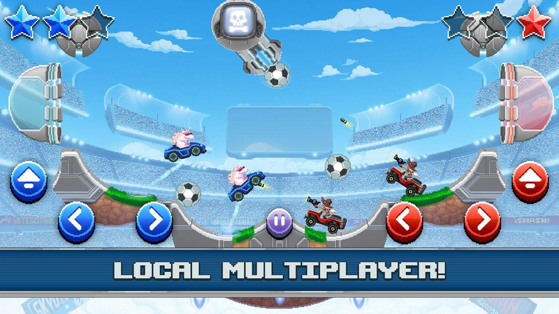 撞头赛车:足球运动V2.5.1 修改版