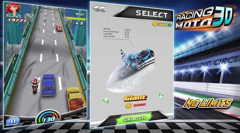 摩托赛车3DV1.1.1 修改版