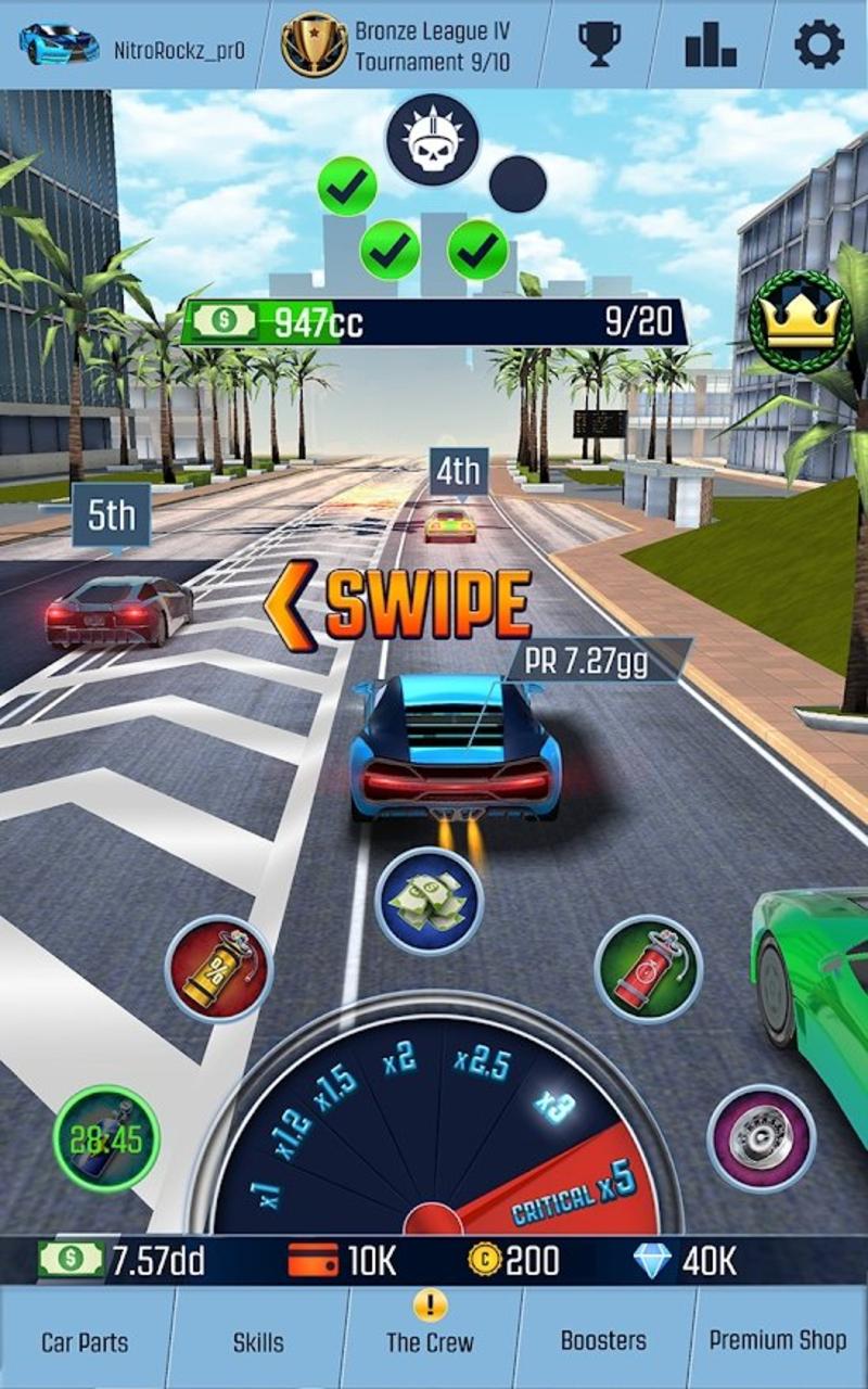 怠速赛车:汽车点击模拟器V1.19 修改版