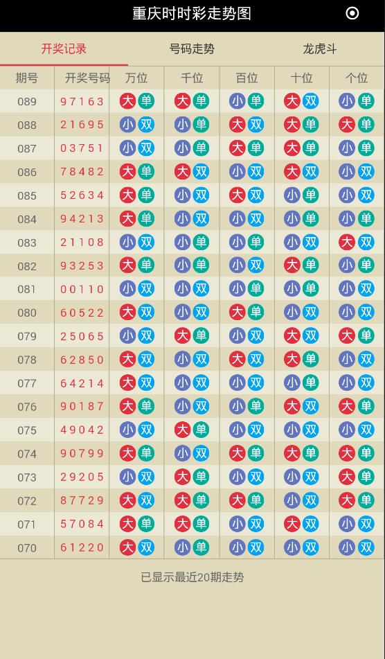 时时彩计划V1.9.5 安卓版