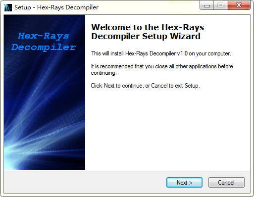 Hex-Rays(反编译工具)V1.0 免费版