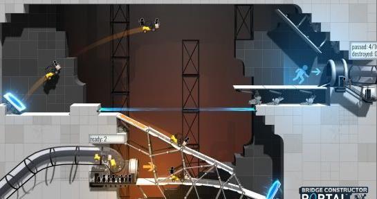 桥梁构造者:传送门V2.1 破解版