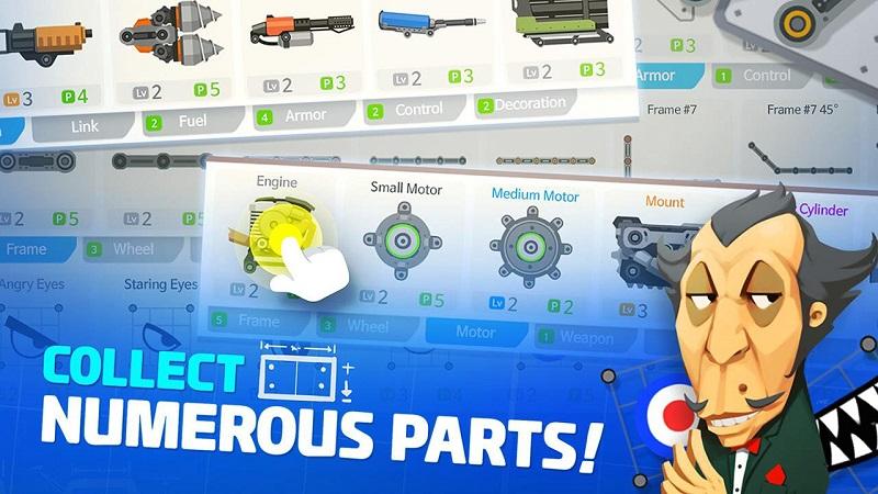 超级战车大作战V3.2.4 无限钻石版