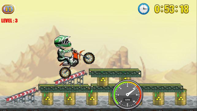 极限越野摩托车V1.0 iOS版