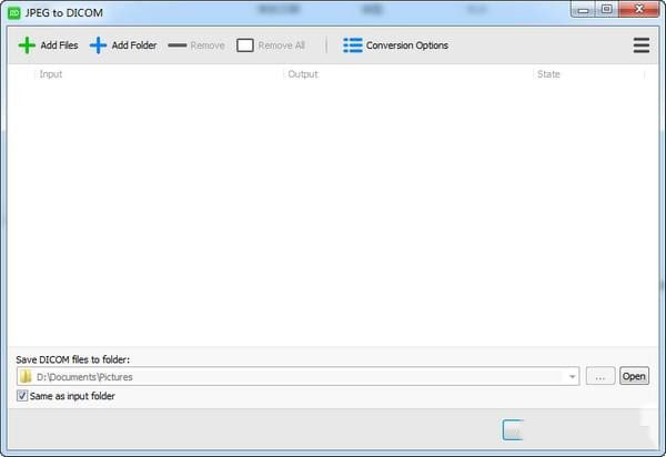 JPEG to DICOM(JPEG转DICOM软件)V1.10.2 官方版