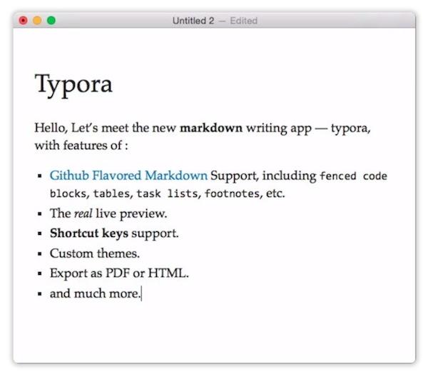 TyporaV0.9.9.18.1 Mac版截图4