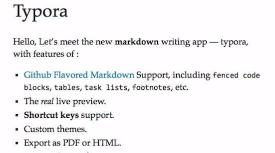 TyporaV0.9.9.18.1 Mac版