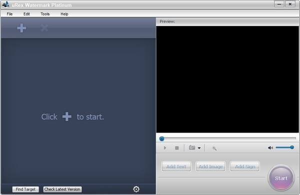 uRex Videomark Plat(视频水印添加软件)V3.0 免费版
