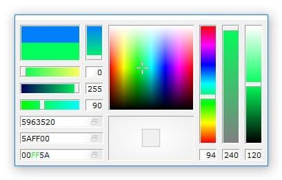 pkColorPicker(16进制取色工具)V4.0.0.0 绿色免费版