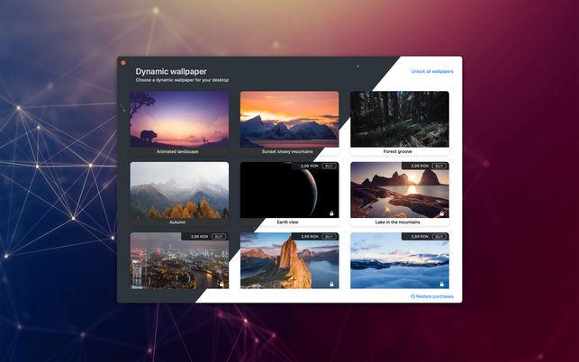 Dynamic wallpaperV1.0 Mac版